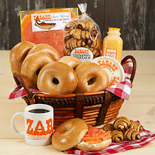 breakfast baskets zabar s gift baskets boxes