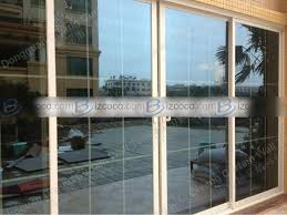 aluminum patio doors and decoration improving the security of