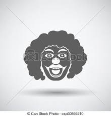 clown graphics 89 clown graphics backgrounds party clown icon on gray background with shadow