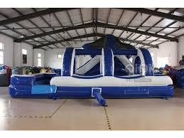 Backyard Water Slide Inflatable by Ocean Blue Inflatable Backyard Water Slide Qiqi Toys Inflatables
