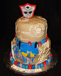 transformers cakes layers of transformers take cake