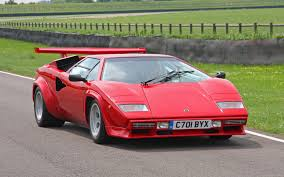 crashed lamborghini countach getting removed the stylish lamborghini countach what was the