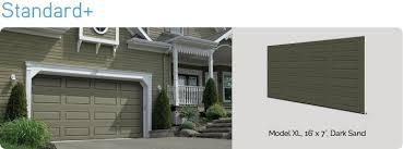standard residential garage doors manufacturers garaga