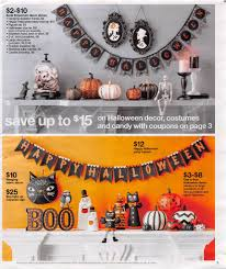 Happy Halloween Light Up Sign by Target Ad Scan Preview 10 9 16 10 15 16