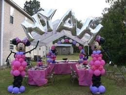 personalized balloon centerpieces u0026 arches for party graduation