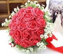 Wedding Flowers Roses Wedding Bouquets Bridal Bouquet Reception Centerpieces Luulla