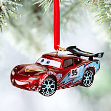 disney pixar cars lightning mcqueen light up sketchbook ornament