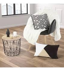 table bout canapé d 40 noir petits meubles but