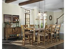 farmhouse rustic dining room server with wine rack ruby gordon