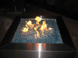 How To Build A Propane Fire Pit Propane Fire Pit Glass Rocks Fire Pit Design Ideas