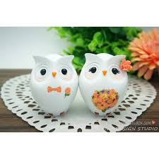 birds wedding cake toppers unique owl bird wedding cake toppers