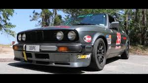 bmw rally car straight piped e30 bmw 325is 1987 race car youtube