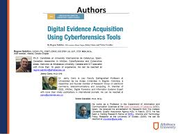 digital evidence acquisition using cyberforensics tools oral paper