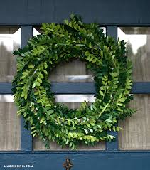 boxwood wreath diy paper boxwood wreath for lia griffith
