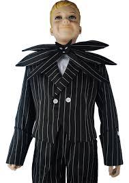 Jack Skellington Halloween Costume Kids Christmas Jack Skellington Cosplay Costume Stripe Uniform