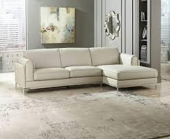 Beige Sectional Sofas Homelegance 8537 Hugo Italian Beige Top Grain Leather Sectional