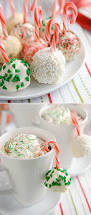 christmas candy cane ideas rice krispies snowball and peppermint