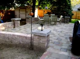 Garden Patio Design Patio Design Ideas Using Pavers In Decent Oasis Terrace
