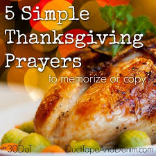 day 11 5 simple thanksgiving prayers to memorize or copy