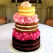 introducing the u0027naked cake u0027 the new unfrosted wedding dessert