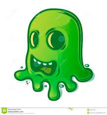 scary halloween white background scary green slug isolated on white background halloween symbol