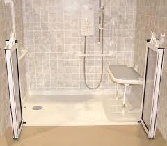 Ada Shower Door Handicap Bath Tubs And Showers Handicap Showers Ada Barrier