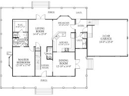 house plans large kitchen architecture plan house design with large living room and dining
