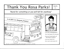 rosa parks coloring page coloring pages online