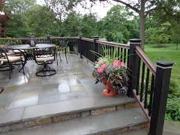 Stain Concrete Patio by If We Do Concrete We Should Make It Glossy And Stain It Like This