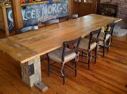 How To Make Reclaimed Wood Dining Room Table Home Interiors - Kitchen tables wood