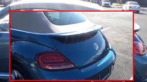 blue volkswagen convertible 2017 volkswagen beetle sel convertible silk blue lightning package