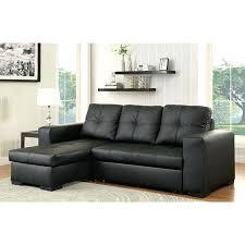 Black Sectional Sofa With Chaise Buchannan Microfiber Sectional Sofa With Reversible Chaise