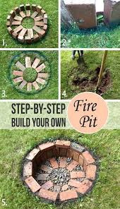 Easy Firepit 10 Easy Ways To Build Your Own Pit Gardening Viral