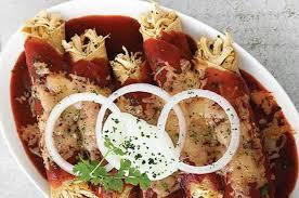 imagenes enchiladas rojas enchiladas rojas de pollo receta cocina vital