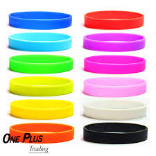 bracelet rubber images 1oopcs lot wholesale plain silicone rubber bracelet wristband jpg