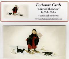 in snow enclosure cards tudor and family