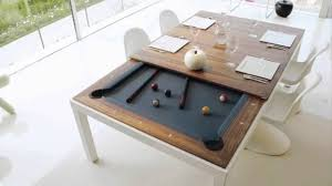 Fusion Pool Table And Dining Table YouTube - Pool dining room table