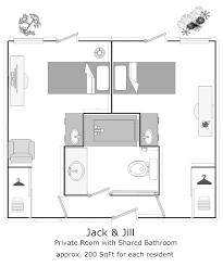 jack and jill bathroom plans shared door locks communicating lock