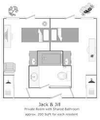 jack jill bath jack and jill bathroom with hall access verstak