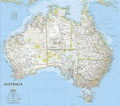 austrelia map australia continent australia map list of countries in