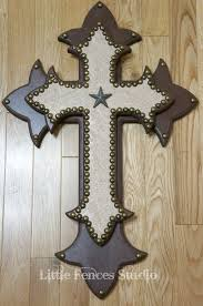 wooden craft crosses western craft ideas large wood western rustic leather cross