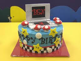 nintendo ds mario kart birthday cake nintendo ds mario birthday