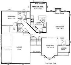 free floor plans plan 90204pd barrier free bungalow free floor plans narrow lot