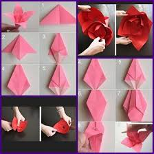 Making Of Flowers With Paper - diy paper flower craft android apps on google play