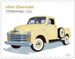 Classic Chevrolet Trucks Pictures - u s postal service unveils truck stamp designs overdrive