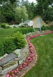 border for flower beds how to make a flower bed edging in your
