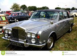 antique rolls royce classic rolls royce silver shadow ii editorial photography
