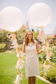 jumbo balloons ivory and gold jumbo confetti balloon with tassels deer