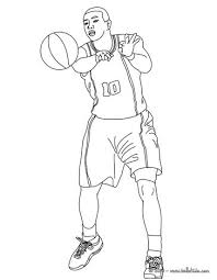 nba players coloring pages player passing ball coloring pages hellokids com