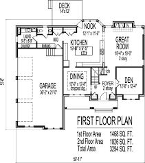 arts and crafts two story 4 bath house plans 3000 sq ft w